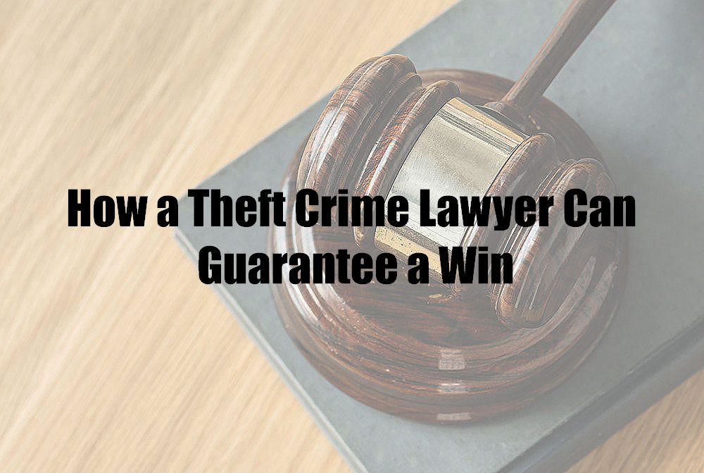 How a Theft Crime Lawyer Can Guarantee a Win